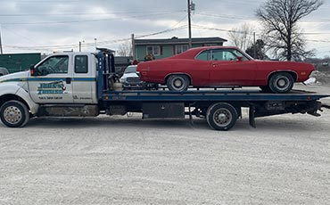 emergency towing services in the Davenport, IA