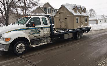 Towing services in Davenport, IA